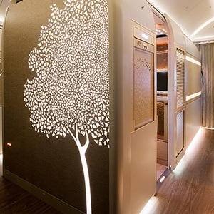New Boeing 777 First Class cabin