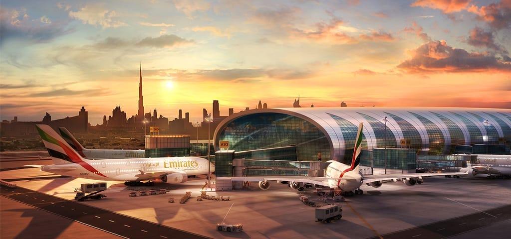 В какой терминал прилетает emirates в дубай дубай сколько стоит квартира снять