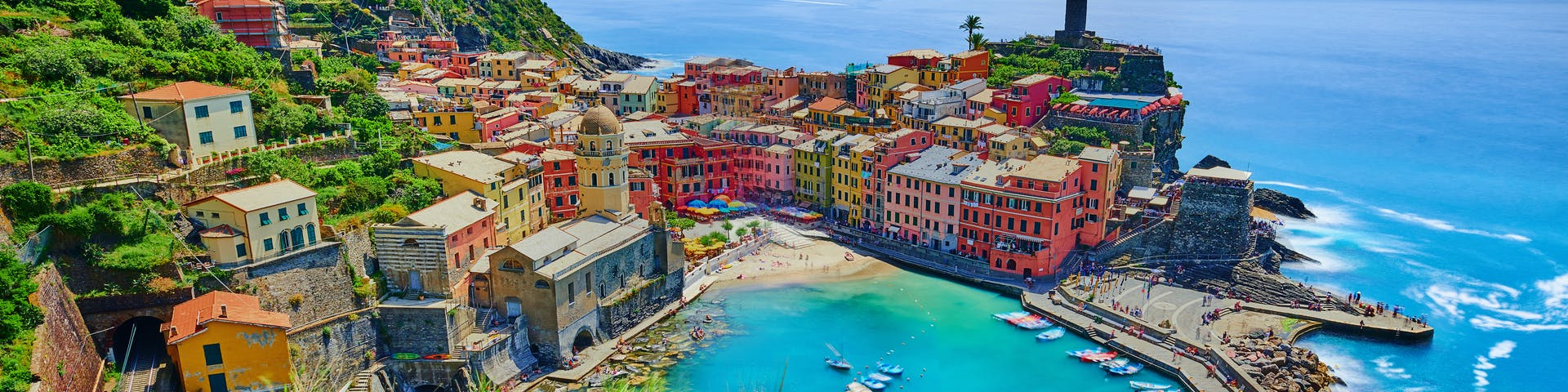 Picturesque view of vernazza