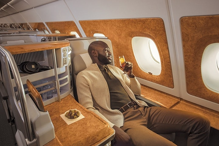 Emirates A380 Business Class Photo Gallery | Emirates A380