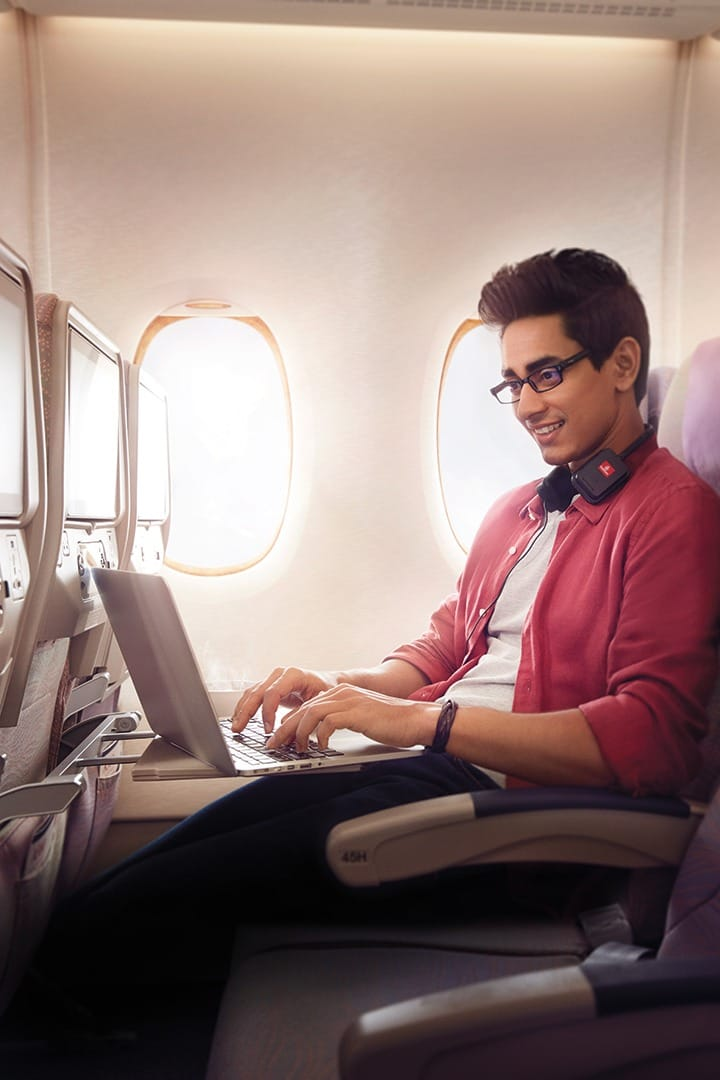 Don't miss that paper deadline. Connect to Onboard Wi-Fi with our data plans