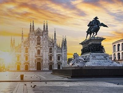 Sewa mobil dari Milan